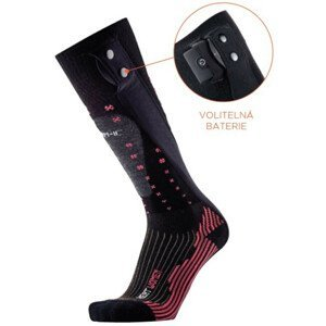 Dámske vyhrievané ponožky THERM-IC PowerSock Heat Ladies V2 Bluetooth s batériami