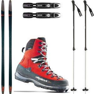 Backcountry set ROSSIGNOL BC 65 S viazaním + topánky Alaska + palice