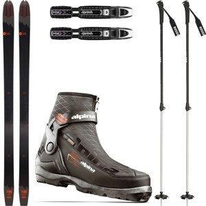Backcountry set ROSSIGNOL BC 100 + viazanie + topánky Outlander + palice