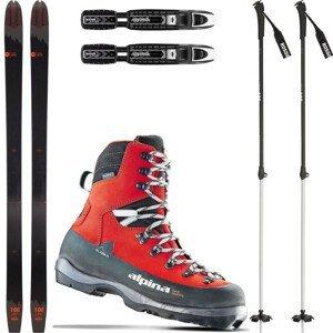 Backcountry set ROSSIGNOL BC 100 + viazanie + topánky Alaska + palice