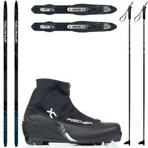 Bežkový set SPORTEN Perun Pro Skin so stúpacím pásom + viazanie + topánky Touring + palice