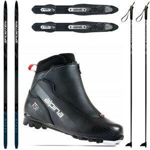 Bežkový set SPORTEN Perun Pro Skin so stúpacím pásom + viazanie + topánky Alpina T5 + palice