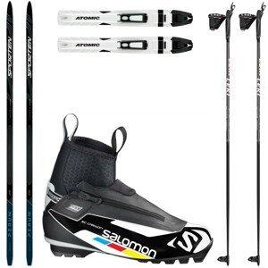 Bežkový set SPORTEN Perun Pro Skin so stúpacím pásom + viazanie + topánky RC Carbon + palice