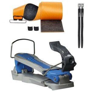 Skialpový adaptér pre deti CONTOUR StartUp s pásmi KOHLA Multifit Mixmohair Sivá