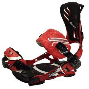 Snowboardové viazanie SP Slab One Fastec Čierno-červená S
