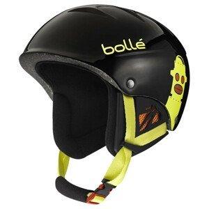Lyžiarska prilba Bollé B-Kid Shiny Black Robot Čierna 49-53 cm