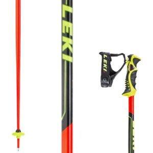 Lyžiarske palice LEKI Worldcup Racing SL Červená 135 cm