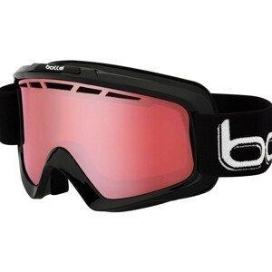 Lyžiarske okuliare BOLLE Nova Shiny Black Vermillon Čierna Normálna veľkosť