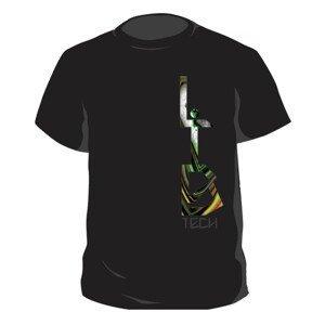 Tričko LIB TECH T-Rice Tee Black Čierna L