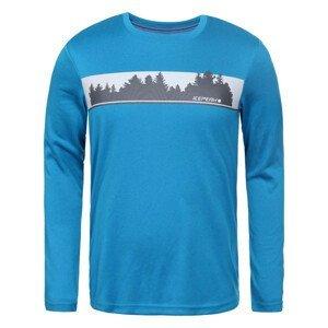 Pánske tričko ICEPEAK Leighton Blue Modrá L