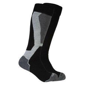 Ponožky ICEPEAK Meo ( 2 pack ) Čierna 39-42