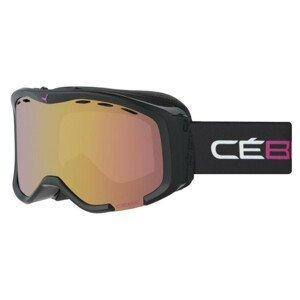Lyžiarske okuliare CÉBÉ Cheeky Black & Pink Čierna Veľký rám