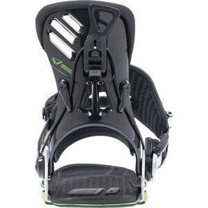 Snowboardové viazanie SP Slab.One Čierno-zelená S