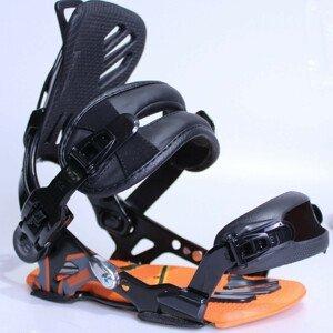 Snowboardové viazanie SP Core Black/Orange Čierno-oranžová S