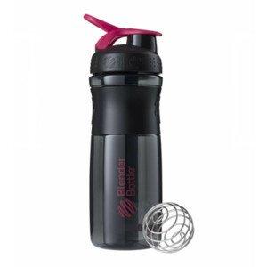 Športová fľaša Blender Bottle SportMixer Grip Black/Pink 820 ml Čierno-ružová