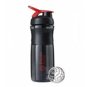Športová fľaša Blender Bottle SportMixer Grip Black/Red 820 ml Čierno-červená