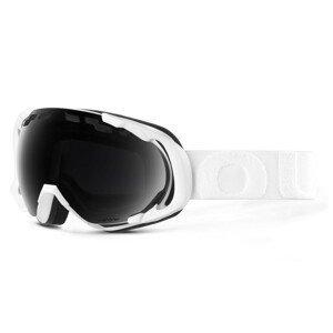 Fotochromatické lyžiarske okuliare OUT OF Edge White The One Nero Bielo-čierna Normálna veľkosť