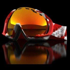 Fotochromatické lyžiarske okuliare OUT OF Edge Layer The One Fuoco Červená Normálna veľkosť
