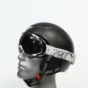 Lyžiarske okuliare OUT OF Edge Snowpark Smoke Bielo-čierna Normálna veľkosť