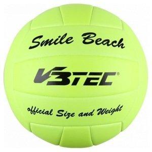 Volejbalová lopta V3TEC Smile Beach Neon Yellow Žltá 5