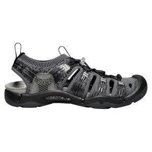 Pánske sandále KEEN Evofit One Black / Magnet 1019301 Sivá 42.5