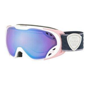 Lyžiarske okuliare BOLLE Duchess Matte White & Pink Aurora Bielo-ružová Normálna veľkosť