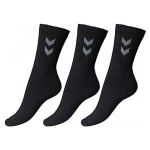 Ponožky HUMMEL Basic 3-pack Čierna 41-45