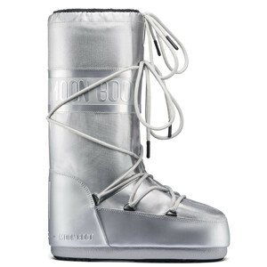 MOON BOOT Glance Silver Strieborná 35/38