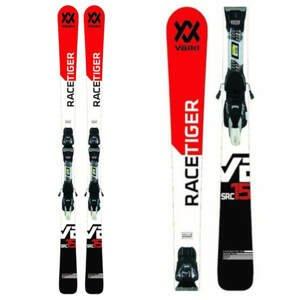 Lyže VÖLKL Racetiger SRC + vMotion 11 GW Čierno-bielo-červená 158 cm