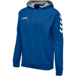 Mikina HUMMEL GO Cotton Hoodie Blue Modrá M