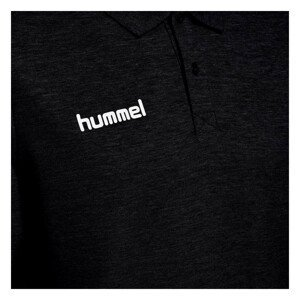 Tričko HUMMEL GO Cotton Black Čierna XL
