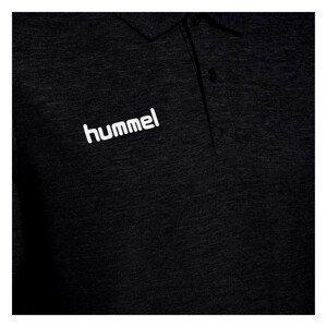 Tričko HUMMEL GO Cotton Black Čierna S
