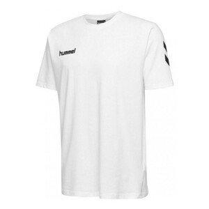 Tričko HUMMEL GO Cotton White Biela L
