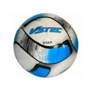 Futbalová lopta V3TEC Star Čierno-bielo-modrá 5
