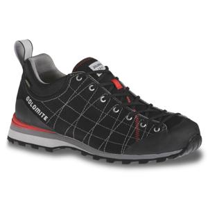 Turistické topánky DOLOMITE Diagonal Lite Black Čierna 44