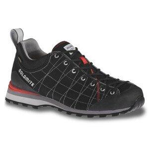 Turistické topánky DOLOMITE Diagonal Lite Black Čierna 44.5