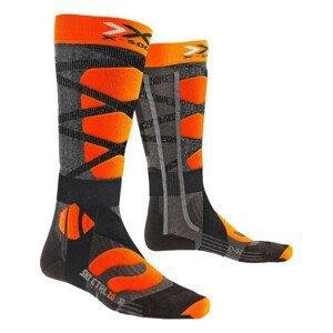 Podkolienky X-SOCKS Ski Control 4.0 Orange Oranžová 39-41