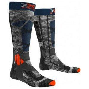 Podkolienky X-SOCKS Ski Rider 4.0 Grey Sivá 42-44