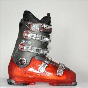 Jazdené bazárové lyžiarky DALBELLO Blaze LTD RED 30.5