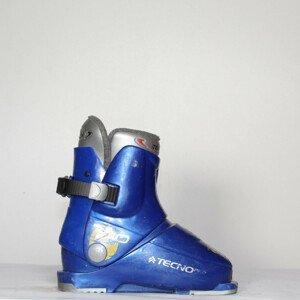 Jazdené bazárové lyžiarky TECNO Pro T40 19.5