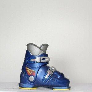 Jazdené bazárové lyžiarky MUNARI Spocky 25 Blue 19.5