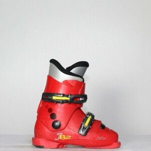 Jazdené bazárové lyžiarky Dolomite J 82 Red/Yellow 19.5