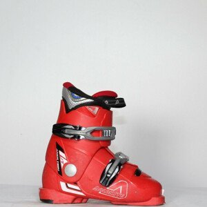 Jazdené bazárové lyžiarky Dolomite Junior Team Red 19.0