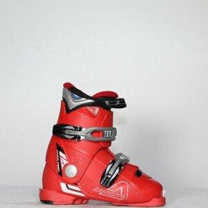 Jazdené bazárové lyžiarky Dolomite Junior Team Red 20.0