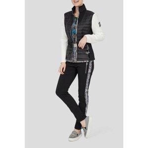 Dámska bunda SPORTALM Clarke Black/White Čierno-biela L