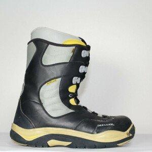 Jazdené Snowboardové topánky DEELUXE Blu/Black/Yellow 23.5