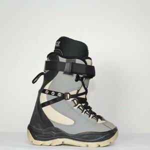 Jazdené Snowboardové topánky DEELUXE Grey/Black 22.0