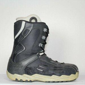 Jazdené Poškodené Snowboardové topánky DEELUXE Blue/Grey 33.0