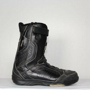 Jazdené Snowboardové topánky DEELUXE Black 32.5