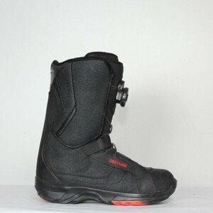 Jazdené Snowboardové topánky DEELUXE Black/Red 25.0